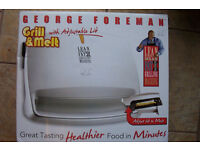 GEORGE FOREMAN-GRILL & MELT NEW & BOXED