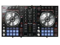 Pioneer DDJ-SR professional controller. DJ Equipment with pioneer travel bag and cables.