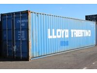 40ft USED Blue Container High Cube - Storage Container