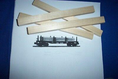 American Flyer Parts - PA14B137 Lumber Stick for 928 & 24516 4 pcs - Stick Flyer