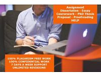 Urgent Help - Dissertation Assignment Thesis Essay Proofreading / SPSS / Writing / Help / PhD