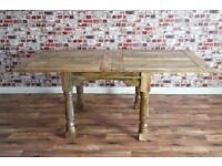 Extending Rustic Dining Tables / Farmhouse Extender - Seats 4 - 12 People