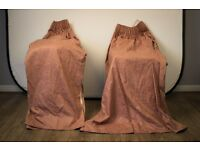 Pair of Quality Hand Made Curtains Bargain Priced to Sell