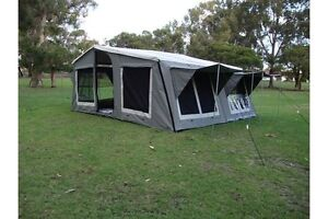 Off road soft floor camper trailer Preston Toowoomba Surrounds Preview
