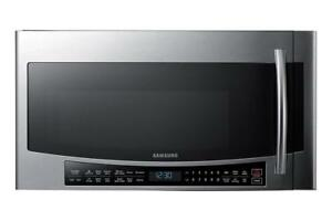 Otr microwave with Glass Touch|Samsung MC17J8100CS Over The Range(BD-805)