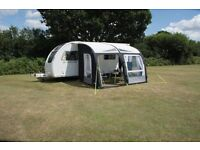 Kampa Rally AIR pro 260 inflatable caravan porch awning - 2015 Used twice.