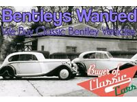 We Want Your Classic Bentley ! Sell your classic Bentley for cash today!