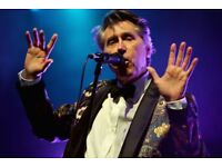 2 tickets for Bryan Ferry at the Liverpool Philharmonic Hall on April 11 20018