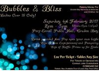Bubbles & Bliss Tickets