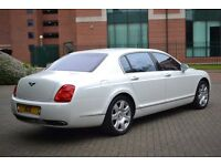 Bentley Flying Spur for Hire With Chauffeur