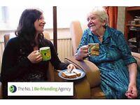 Volunteer Befriender for an older person - 1 hour per week