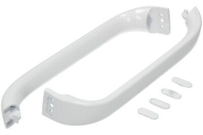 Passt Bosch Kühlschrank-gefrierschrank Weißer Türgriff Kit I Paar 369542 ()
