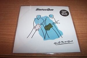 STATUS QUO--QUID PRO QUO  -- CD FULL ALBUM PROMO -- 15 TRACKS--NUMBERED