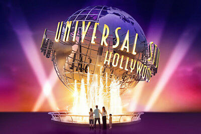 2 Universal Studios Hollywood Adult E-Tickets