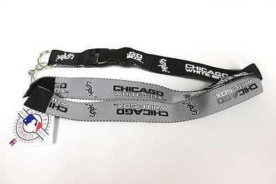 Chicago White Sox Two 2 Tone Lanyard (Chicago White Sox Lanyard)