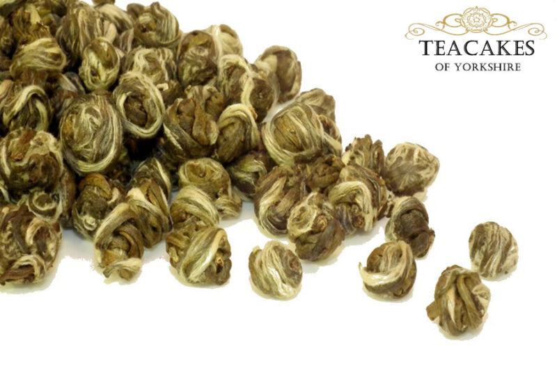 Tea pearls with delicate jasmine scent
