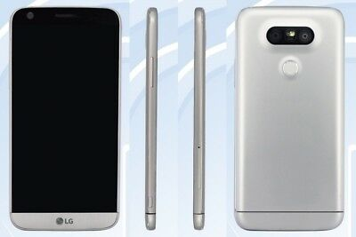 Unlocked LG G5 4G LTE 32GB - H820 Silver (AT&T-T-Mobile) GSM World Smartphone