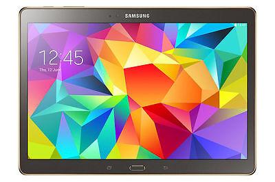 Samsung Galaxy Tab S SM-T807A 16GB Wi-Fi 4G LTE Unlocked Any GSM Charcoal Gray *