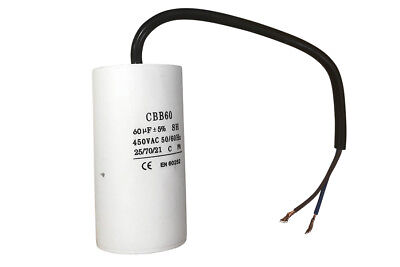 Kondensator 450V AC 60µF (CBB60-B) (Kondensator Ac)