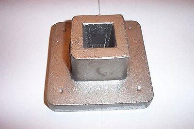 Blacksmith Tinsmith Unrestrained b generally Single Stake Plate Anvil Tool Pexto