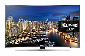Samsung 55'' 4K UHD Curved led 3D TV & Samsung Blu-Ray Player