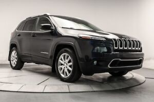 2015 Jeep Cherokee Limited 4X4 CUIR, TOIT, NAV, BLUETOOTH, CAMER
