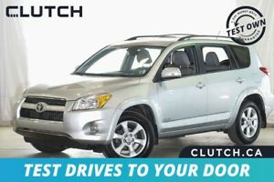 2012 Toyota RAV4 Limited Finance for $85 Weekly OAC