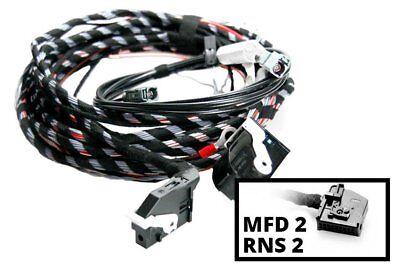 Genuine Kufatec Cable Loom RF Reversing Camera for VW Touareg 7L with Satnav Rns
