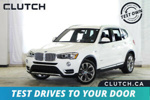 2015 BMW X3 xDrive28i Finance for $107 OAC
