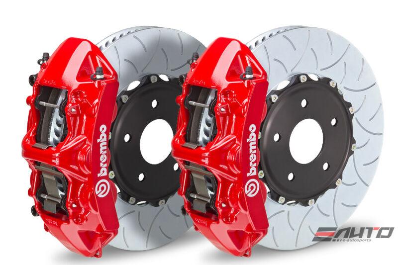 Brembo Front Gt Bbk Big Brake 6pot Caliper Red 380x32 Type3 Disc Camaro V6 10-14