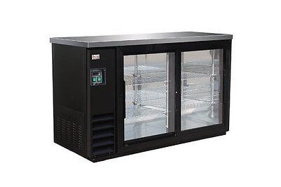 Ikon Kbb-48-2g-24sd Bottle Cooler Back Bar Glass 2 Sliding Doors Kool-it