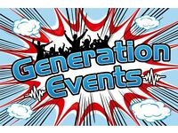 Dj / Kids Entertainer , wedding set-ups , Party Supplies , bouncy castles