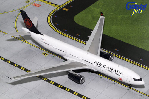 GEMINI200 (G2ACA722) AIR CANADA A330-300 (NC) 1:200 SCALE DIECAST METAL MODEL