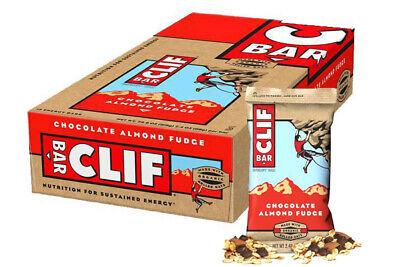 Clif Bar Shot Bloks Chocolate Almond Fudge Organic 68g x 12 Box, Natural Energy