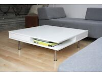 IKEA TOTTERED White Coffee Table