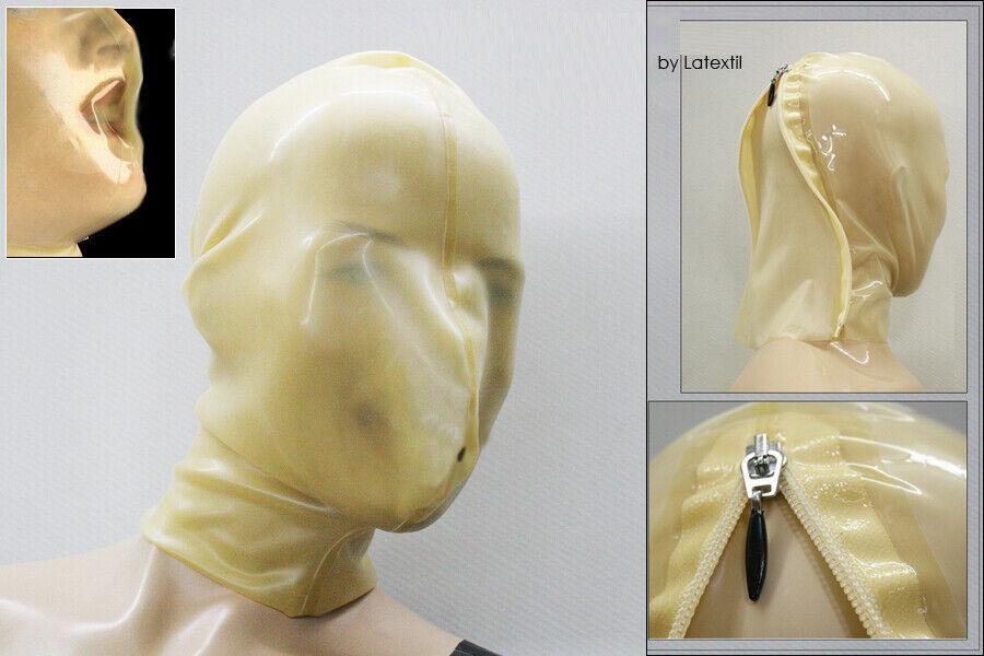 ----- LATEXTIL ----- BreathRegulate - Latexmaske mask rubber - breathplay  NEW