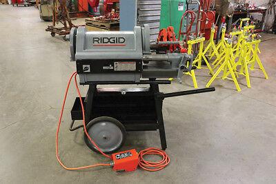 Used Ridgid 26092 1224 4 Pipe Threader