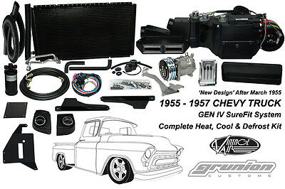 Vintage Air 1955-1957 Chevy Truck w/Deluxe Cntrls Complete Air Conditioning Kit