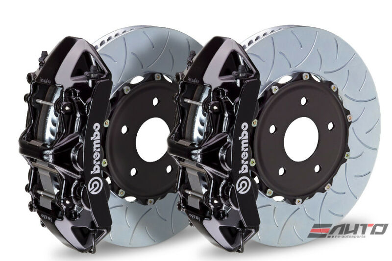 Brembo Front Gt Brake 6pot Caliper Black 355x32 Type3 Disc A4 09-14 A5 08-14 B8