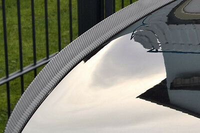 MERCEDES E W124 COUPE CABRIO tuning spoiler hecklippe CARBON look Slim lip trunk