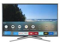 """Samsung 40"""" smart LED Tv wi-fi silver Bezel Apps Slim Design ue40k5500"""
