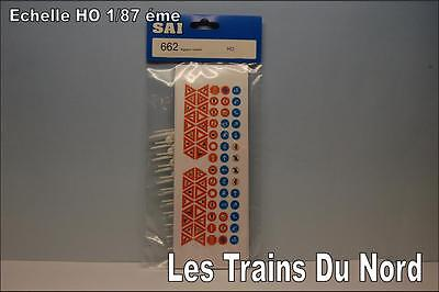 SAI Maquettes Signaux Routiers (panneaux) SAI 662 échelle HO