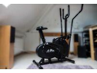 JLL 2-in-1 Elliptical Cross Trainer Exercise Bike CT100