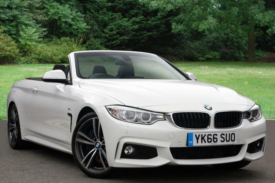 bmw 4 series convertible m sport white 2016 09 15 in stoke on trent staffordshire gumtree. Black Bedroom Furniture Sets. Home Design Ideas