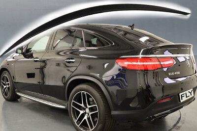GLE C292 Coupe SUV Heckspoiler fertig lackiert 197 Obsidianschwarz wie AMG