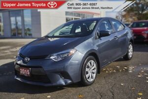 2015 Toyota Corolla LE CUSTOM LEATHER INTERIOR