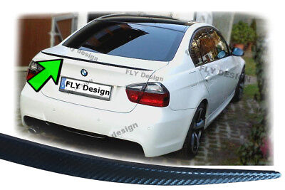 Para BMW E90 Facelift Tuning Aspecto de Carbono Slim Deportivo Spoiler Rebordes