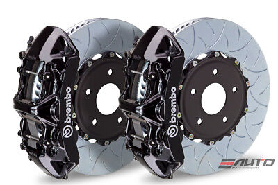 Brembo Front GT Brake 6pot Black 380x32 Type3 GS350 GS450h 12+ IS350 14+ RC350