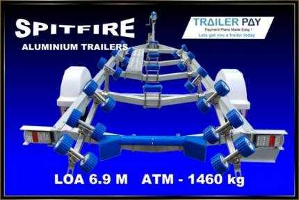 SPITFIRE TRAILERS 6.5 METRE CLEARANCE SALE. SPECIAL PRICES.