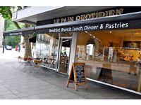 Kitchen Porter needed, Le Pain Quotidien Kendal Street